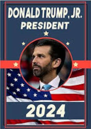President Donald Trump Jr 2024