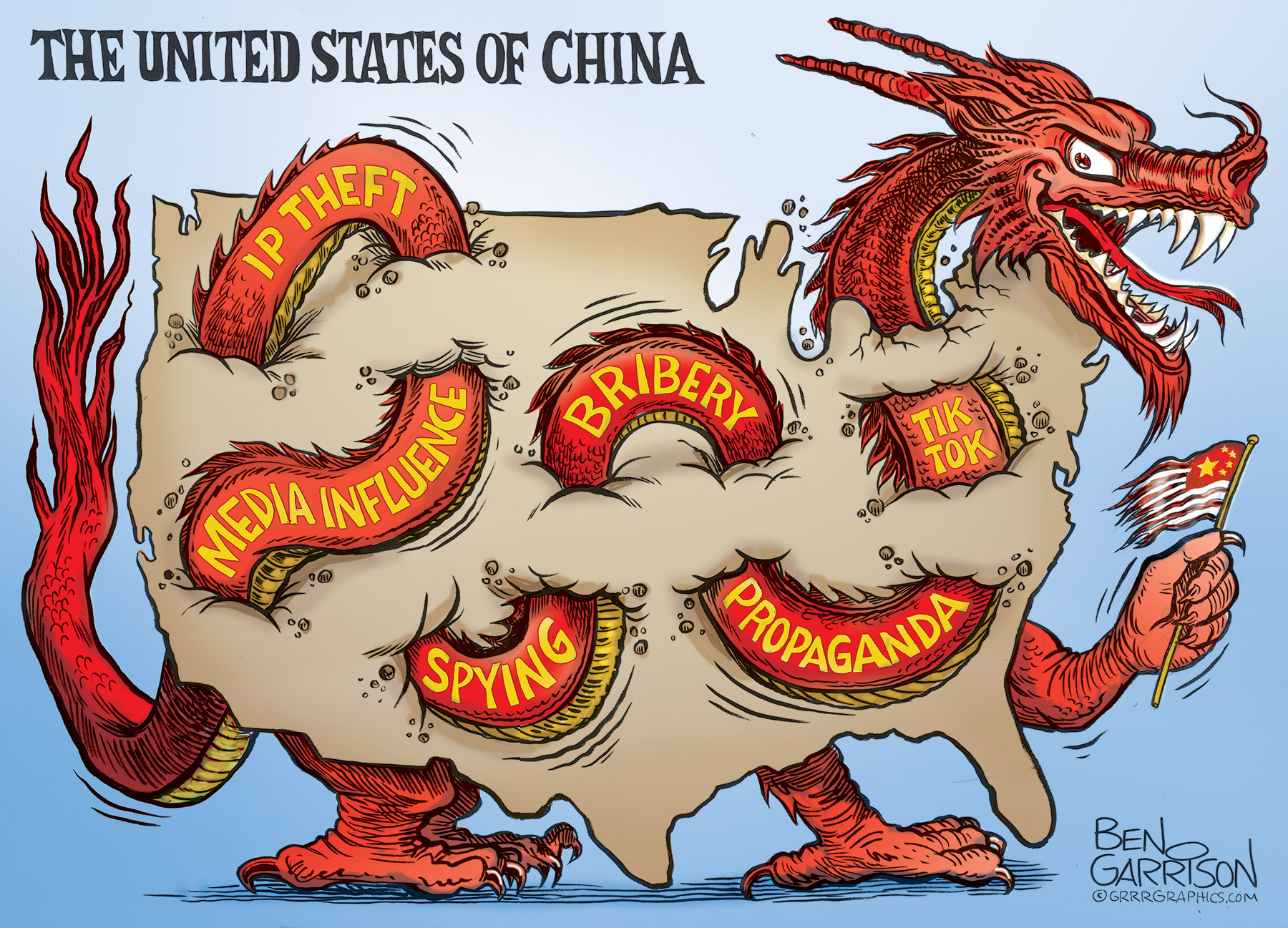 THE UNITED STATES OF CHINA