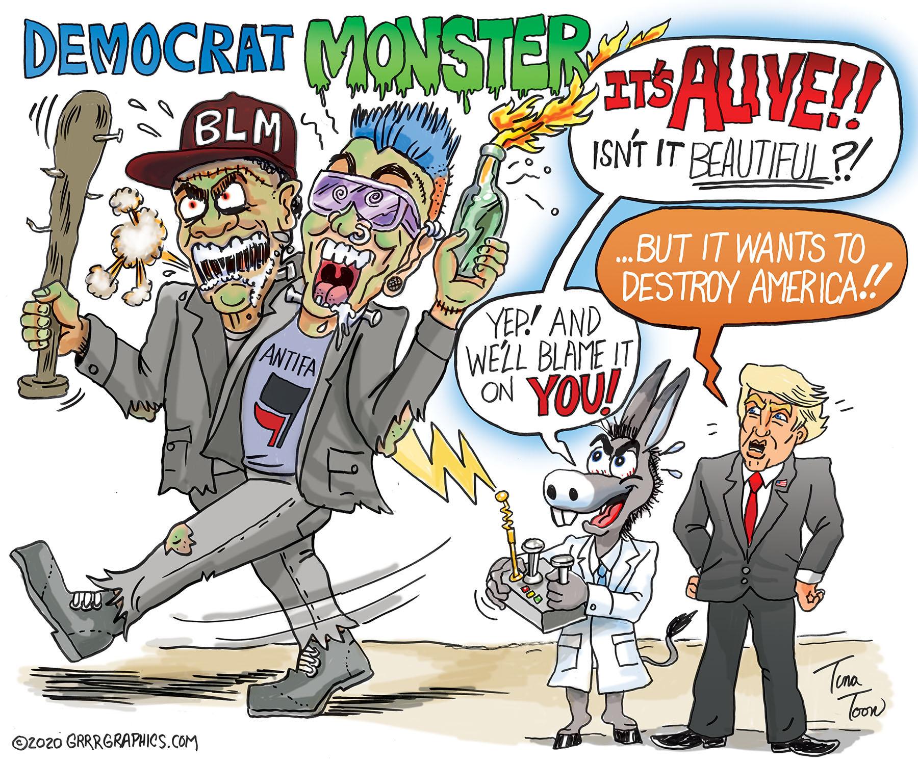 DEMOCRAT MONSTER