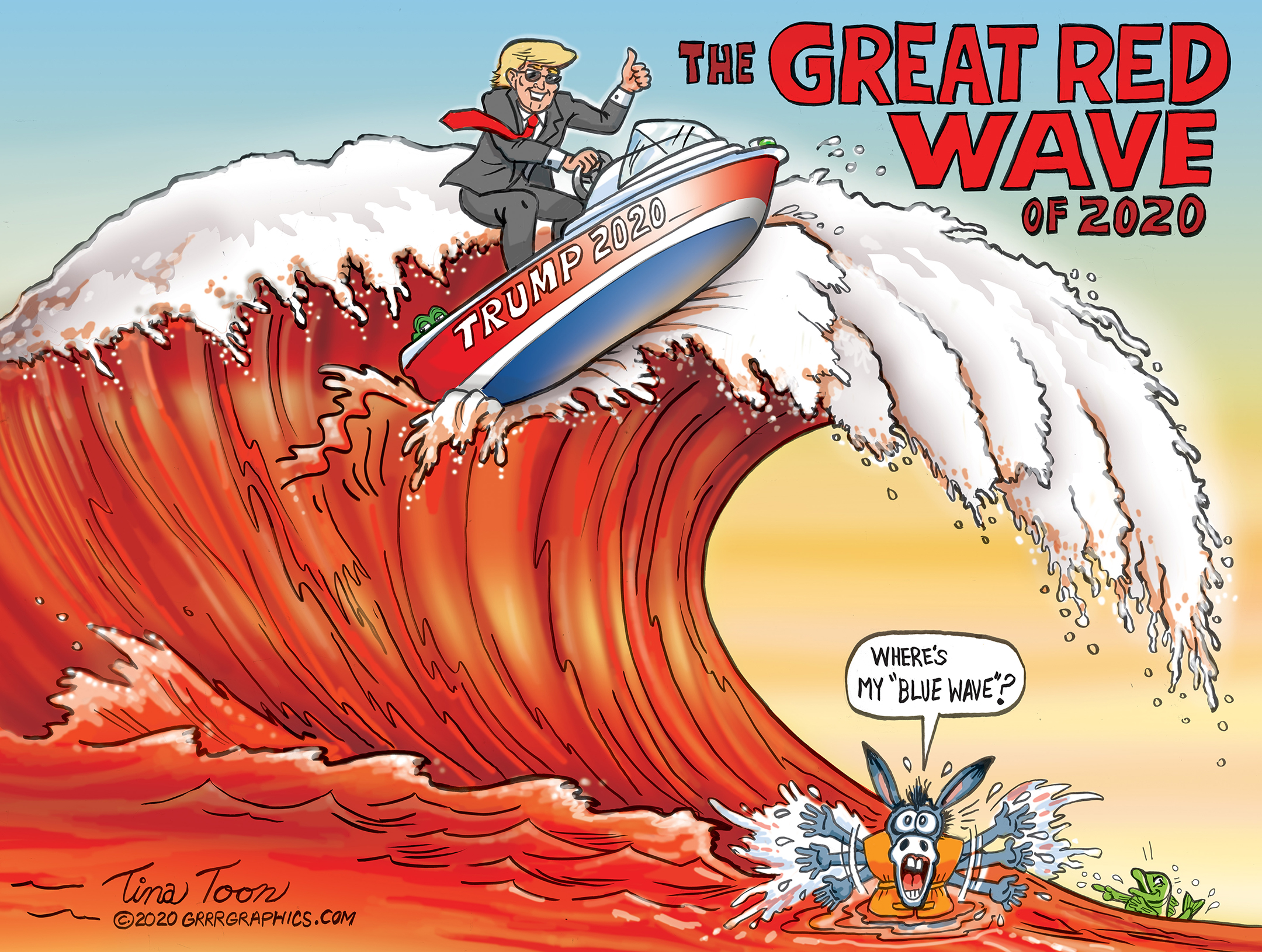TRUMP - GREAT RED WAVE