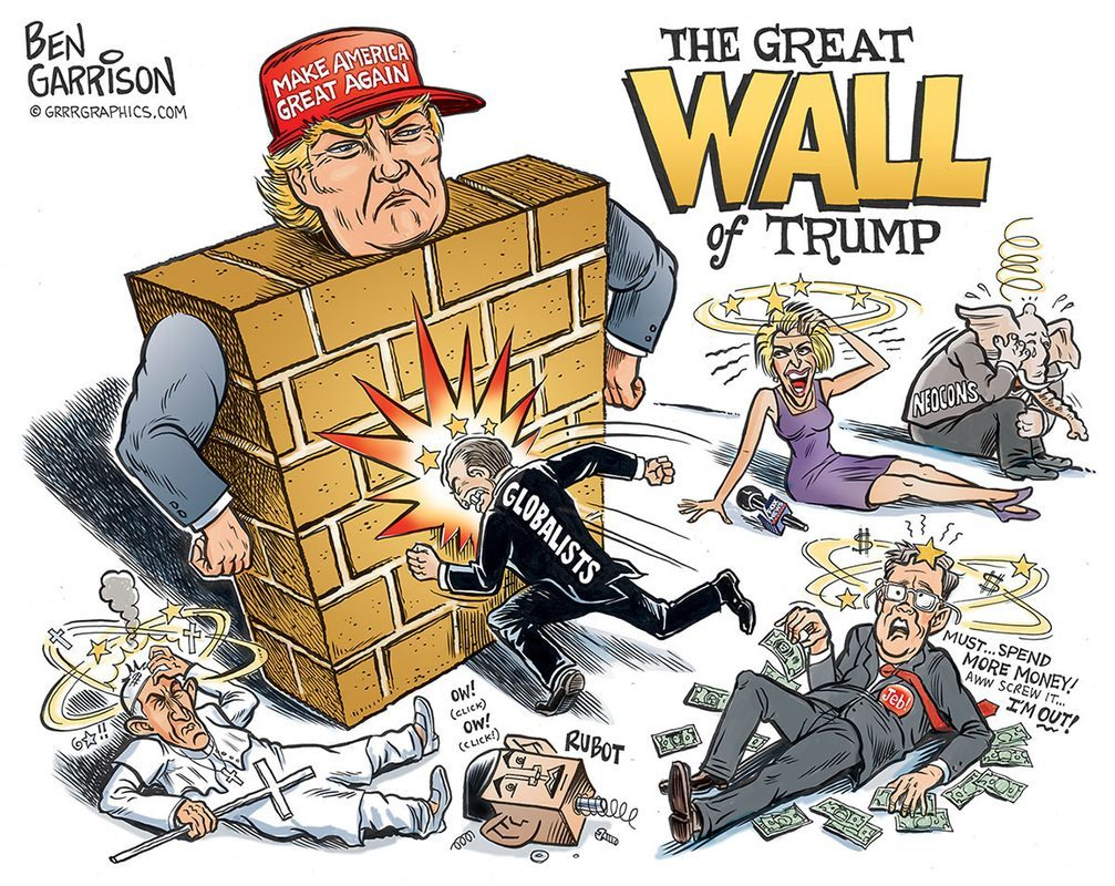 Great Wall OF TRUMP
