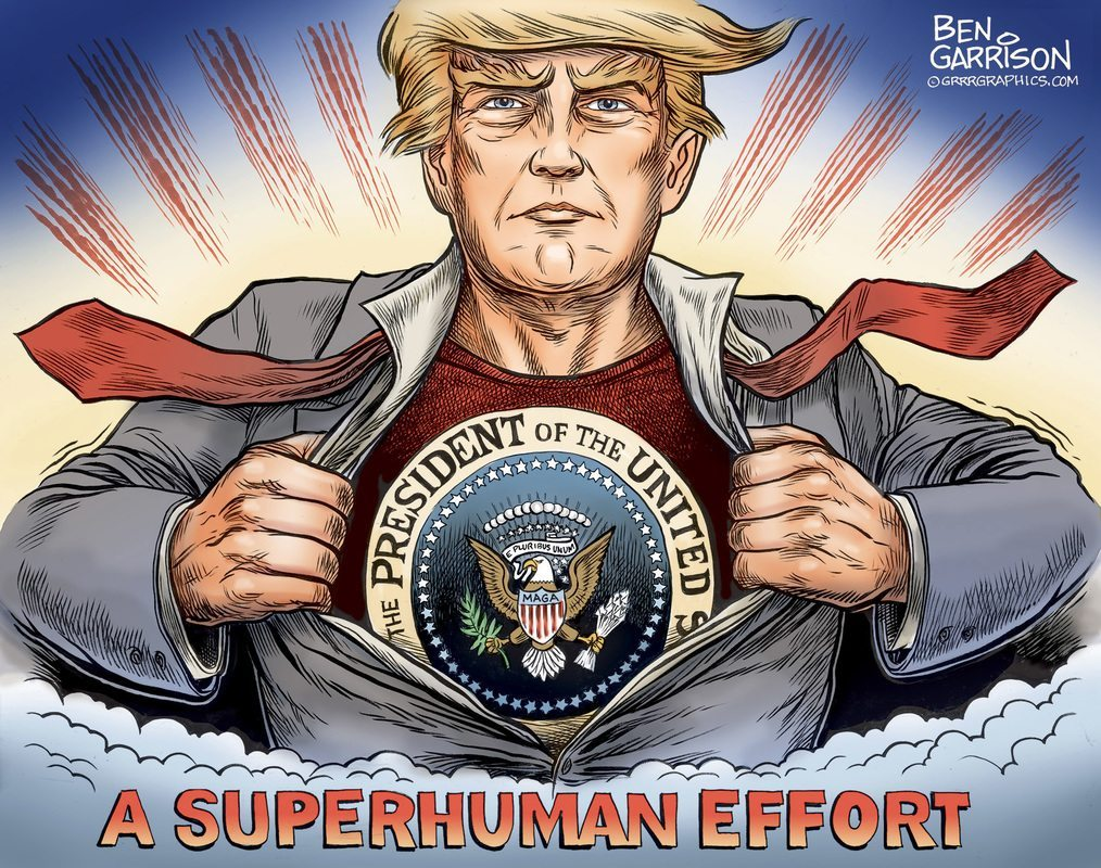 PRESIDENT TRUMP - SUPER HUMAN